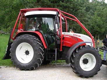 tracteur forestier steyr
